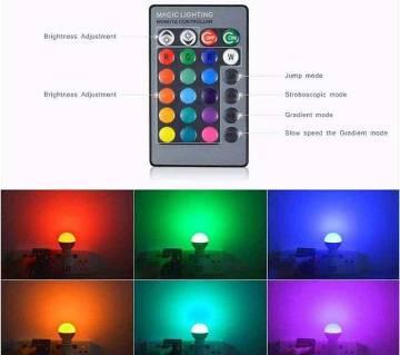 ১৬ কালার LED রিমোট ল্যাম্প (5 ওয়াট)