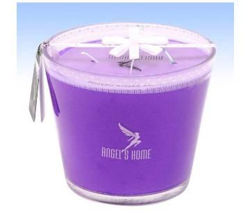 Glass Jar Candle - Lvendar Fragrance