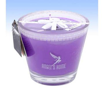 Glass Jar Candle - Lavendar Grass Fragrance