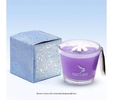 Glass Jar Candle - Lavendar Fragrance