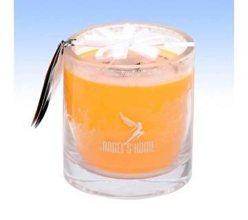 Glass Jar Candle - Orange Fragrance