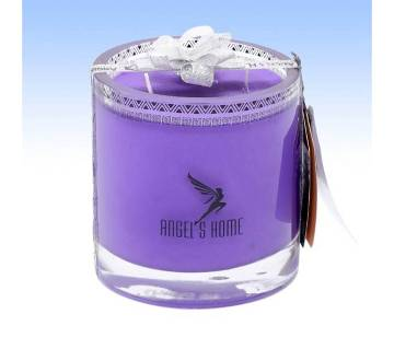 Glass Jar Candle - Lavender Fragrance