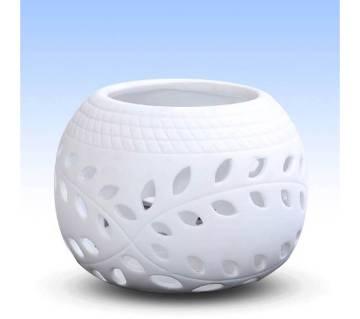 Tea Light Candle Pot - Oval