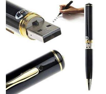 Digital video recorder Pen Spy Camera