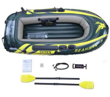 Fishing Air Inflatable Boat Seahwak200 Intex