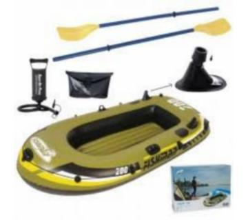 Inflatable Fishman 200 Fishing Air Boat