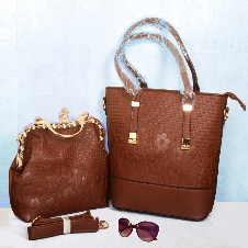 Ladies Vanity Bag (2 PC)