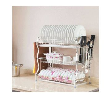 New Arrival 3 layer dish drainer