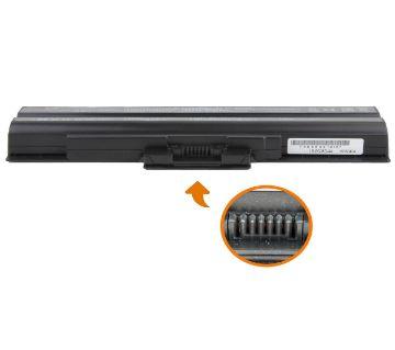 SONY VGP-BPS13/B BPS13-T 6 CELLS 4400MAH 11.1V BLACK BATTERY