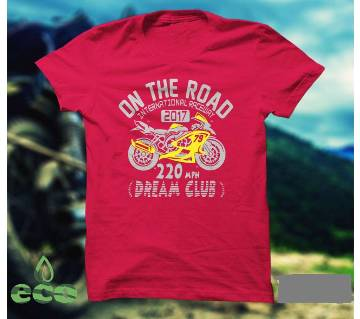 On The Road Gents Half Sleeve T-shirt