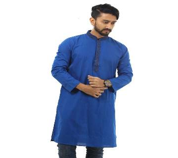 Mens Cotton Semi Long Panjabi