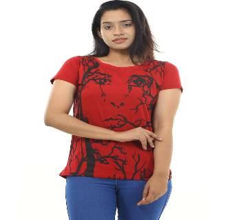 Ladies Half Sleeve T-shirt