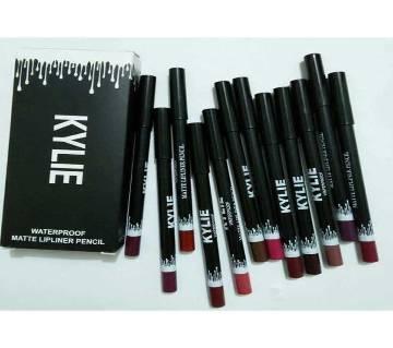 Kylie Pencil lip liner set  - 12 pcs USA