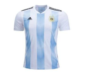 World Cup Argentina Home Jersey Half Sleeve - (Copy)