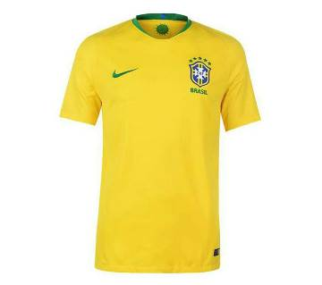 World Cup 2018 Brazil Home Jersey Half Sleeve (Copy)