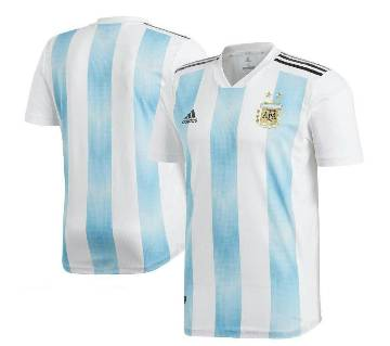 World Cup 2018 Argentina Home Jersey Half Sleeve (Copy)