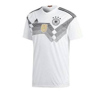 World Cap-2018 Germany Home Jersey Half Sleeve (China)