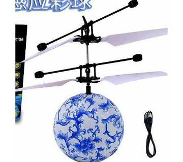 Mini Flying RC Ball Rcool Crystal Hand Suspension Helicopter