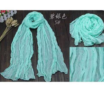 Foulards Fold Candy color Ladies Scarf