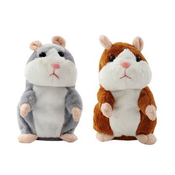 Talking Hamster Plush Toy - 1 Piece