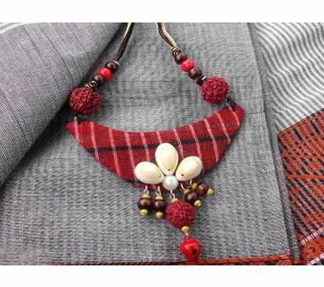 Gamcha Fabric Made Pendant