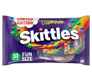 Skittles Darkside Fun Size চকোলেট Bags UK
