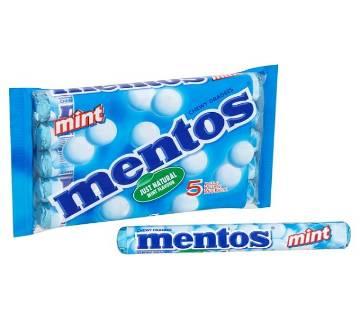 Mentos Mint Holland ৫টি রোল - হল্যান্ড