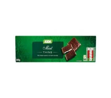 Mint চকলেট Thins 300gm - UK