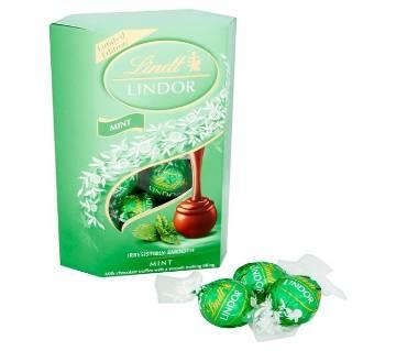 Lindt Lindor Mint চকলেট Truffles 200gm - Italy