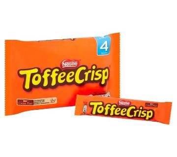 Toffee Crisp চকোলেট Bar 4 প্যাক - UK