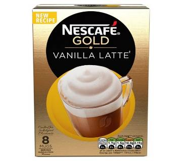 Nescafe Gold Vanilla Latte Coffee UK