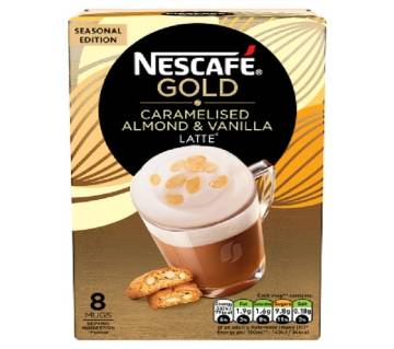Nescafe Gold Caramelised Almond & Vanilla Latte - UK