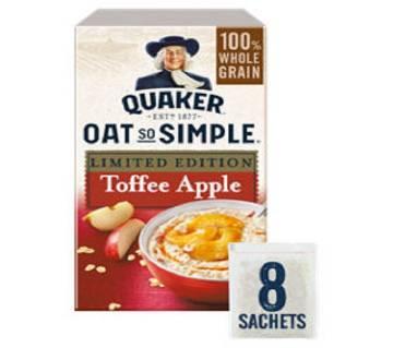 Quaker Oat Toffee Apple Porridge - UK