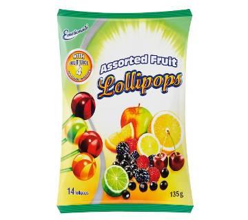 Assorted Fruit ললিপপ - জার্মানি