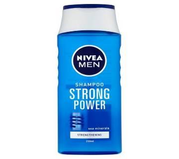Nivea Men Shampoo Strong Power 250ml Germany