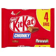 Kit Kat Chunky Chocolate Multipack UK