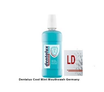 Dentalux Cool Mint Mouthwash 500ml Germany
