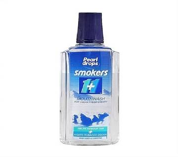 Pearl Drops Smokers 1+1 Mouthwash 400ml - UK
