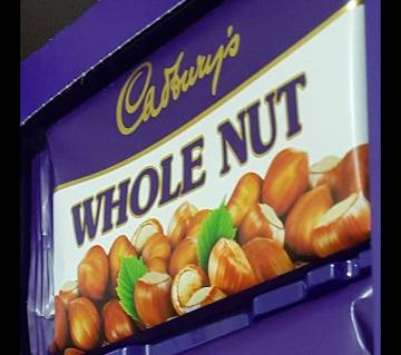 Cadbury Whole Nut England