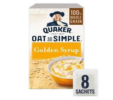 Quaker Oat So Simple Golden Syrup Flavour Porridge 288gm UK