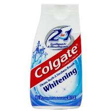 Colgate Whitening 2 in 1 Toothpaste & Mouthwash