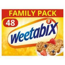 Weetabix সিরিয়াল ৪৮ প্যাক UK