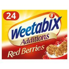 Weetabix Additions Red Berries Cereal UK