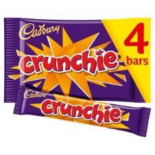 Cadbury Crunchie Chocolate Multipack UK