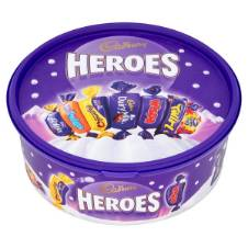 Cadbury Heroes Chocolate Tub UK
