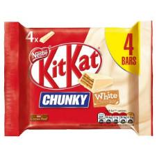 Kit Kat Chunky White Chocolate Bars UK