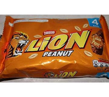 Lion Peanut Chocolate Bar 4 Pack UK