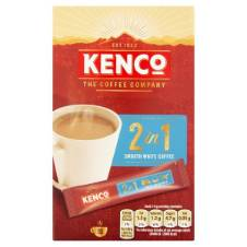 Kenco 2 in 1 Smooth White Instant Coffee Netherlands