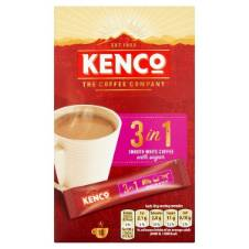 Kenco 3 in 1 Instant Smooth White Coffee Netherlands
