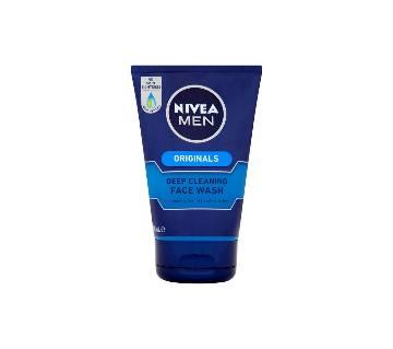 Nivea Men Deep Cleansing Face Wash Germany